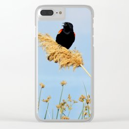 Riding the Wind Clear iPhone Case