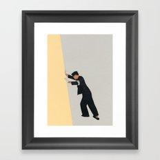 Pushing Boundaries Framed Art Print