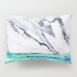 Marble Ocean iPhone Case and Throw Pillow Design Pillow Sham