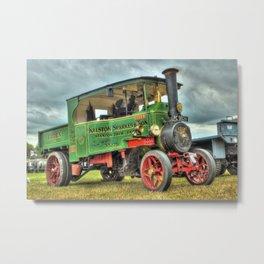 Foden Steam Wagon Metal Print