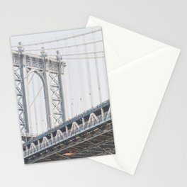 Manhattan Bridge - NYC Photography Stationery Cards
