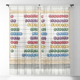 Count On Me Sheer Curtain
