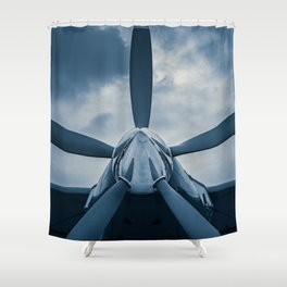 Clear Prop! Shower Curtain