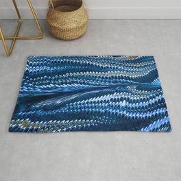 Splendid Blue Lizard Lover Rug