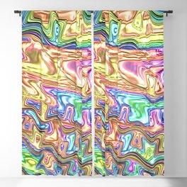 Liquid Rainbow Blackout Curtain