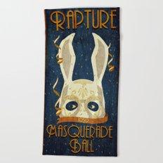 Rapture Masquerade Ball 1959 Beach Towel