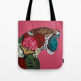 Jaguar Warrior Tote Bag