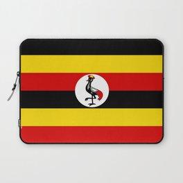 Flag of Ugandan Laptop Sleeve