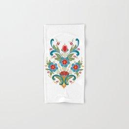 Nordic Rosemaling Hand & Bath Towel