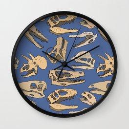 Paleontology Wall Clock