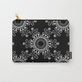 Ornate snowflake - inverted Carry-All Pouch