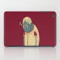 drunk iPad Cases featuring Drunk by Renato Klieger Gennari