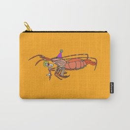 Spot Prawn drinking Sex on the Beach Carry-All Pouch