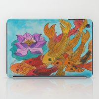 koi fish iPad Cases featuring Koi Fish by DaeChristine