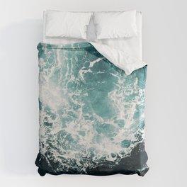 Sea waves II Duvet Cover