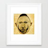 tribal Framed Art Prints featuring tribal  by Joe Ganech