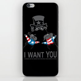 Uncle Scam iPhone Skin