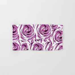 closeup pink rose texture pattern abstract background Hand & Bath Towel