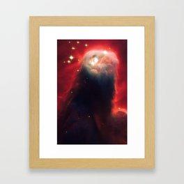 Cone Nebula, Galaxy Background, Universe Large Print, Space Wall Art Decor, Deep Space Poster Decor Framed Art Print