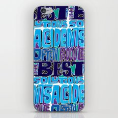 Accidents iPhone & iPod Skin