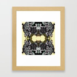 Lace Wing Framed Art Print