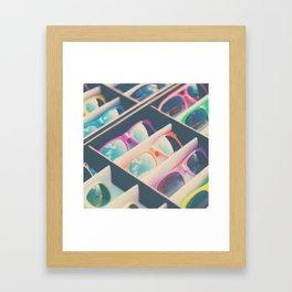 finding sunshine ... Framed Art Print