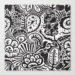 Shadow Garden (Wayang) Canvas Print