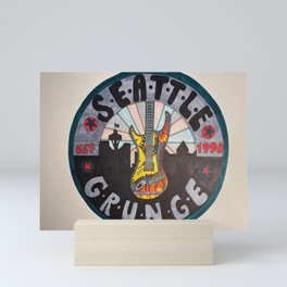 Seattle Grunge Mini Art Print