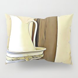 Once Upon a Time - Wash Jug and Stand Pillow Sham