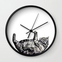 Cat naps Wall Clock