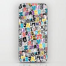 Alpha Pattern iPhone & iPod Skin