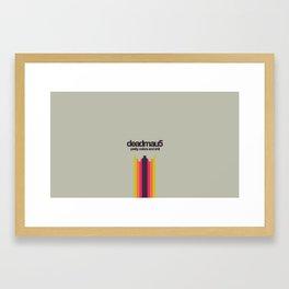 Deadmau5 Pretty color and shit  Framed Art Print