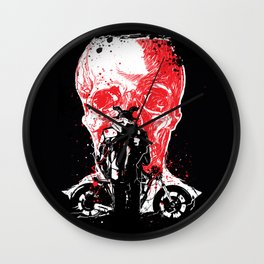 rebel from hell #1 Wall Clock