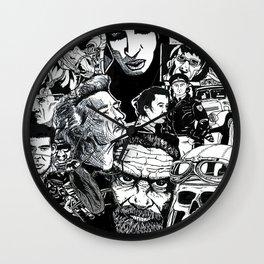 Eds drawings Wall Clock