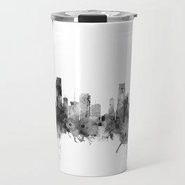 Miami Florida Skyline Travel Mug