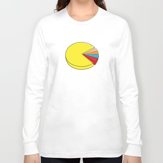 Epic Pie Chart Long Sleeve T-shirt