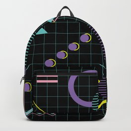 Memphis Pattern 4 - 80s Retro Backpack