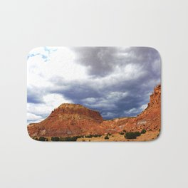 Before the Rains Came, on the Mesas and Buttes of New Mexico Bath Mat