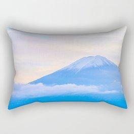 pastel mountain #sky Rectangular Pillow