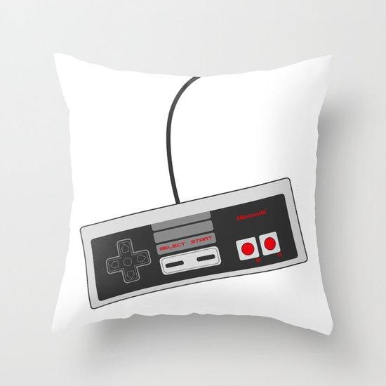 Nintendo NES Game Controller Throw Pillow