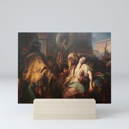 Julius Schrader - Esther vor Ahasver Mini Art Print