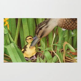 Little Lost Duckling Rug