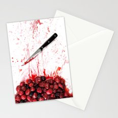 Healthy bloody Eating Stationery Cards