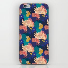 Chrysanthemums and Marigolds iPhone Skin