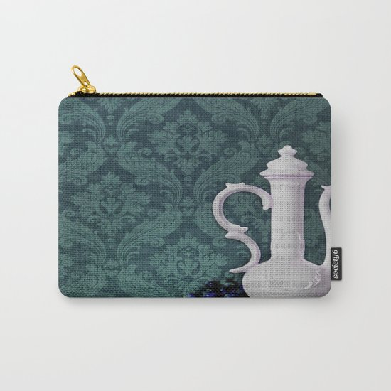 Decanter and Grapes Carry-All Pouch