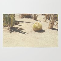 cacti Area & Throw Rugs featuring Cacti by Amber Barkley