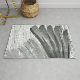 White Wings Signed Rug