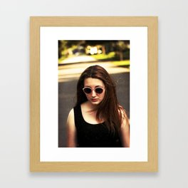 The Funeral Framed Art Print