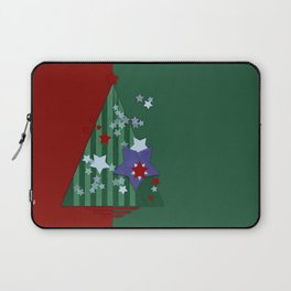 stars and stripes - christmas edition Laptop Sleeve
