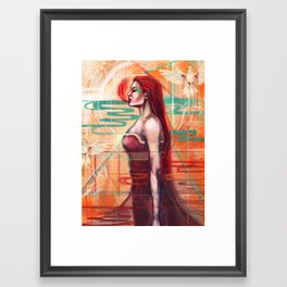 A.I Framed Art Print